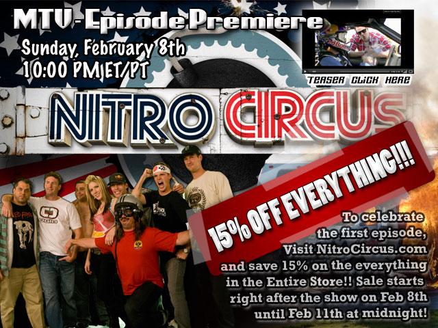 Nitro Circus Sale